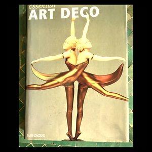 Essential ART DECO by IAIN ZACZEK.w Dust jacket